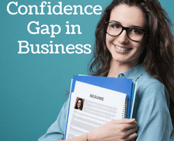 confidence gap for women