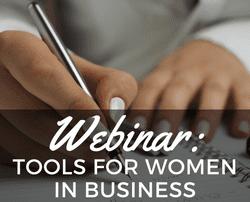 webinar financial resources women business