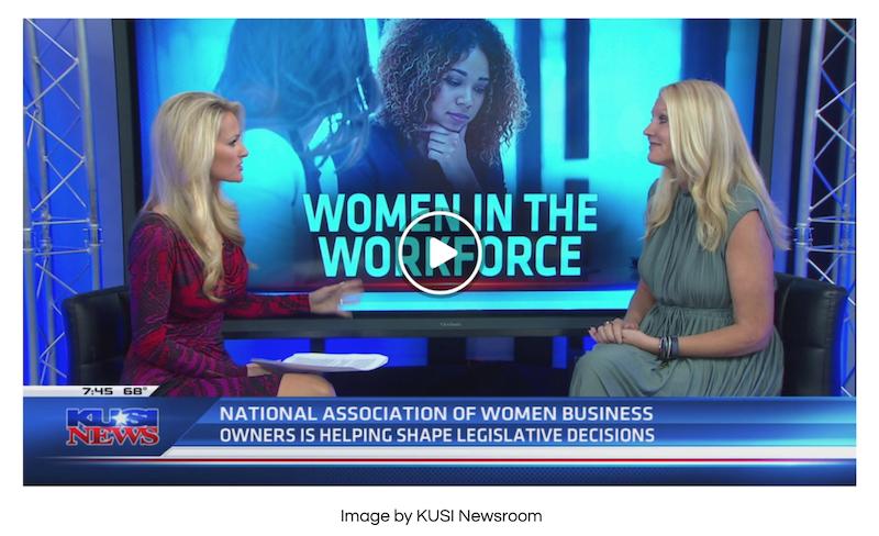 Women in the Workforce - KUSI Interview with Felena Hanson - NAWBO San Diego