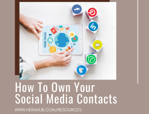 How To Own Your Social Media Contacts