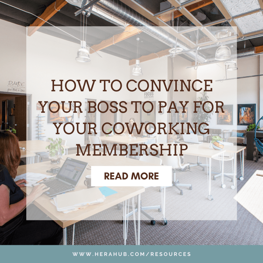 How to Convince Your Boss to Pay for Your Coworking Membership