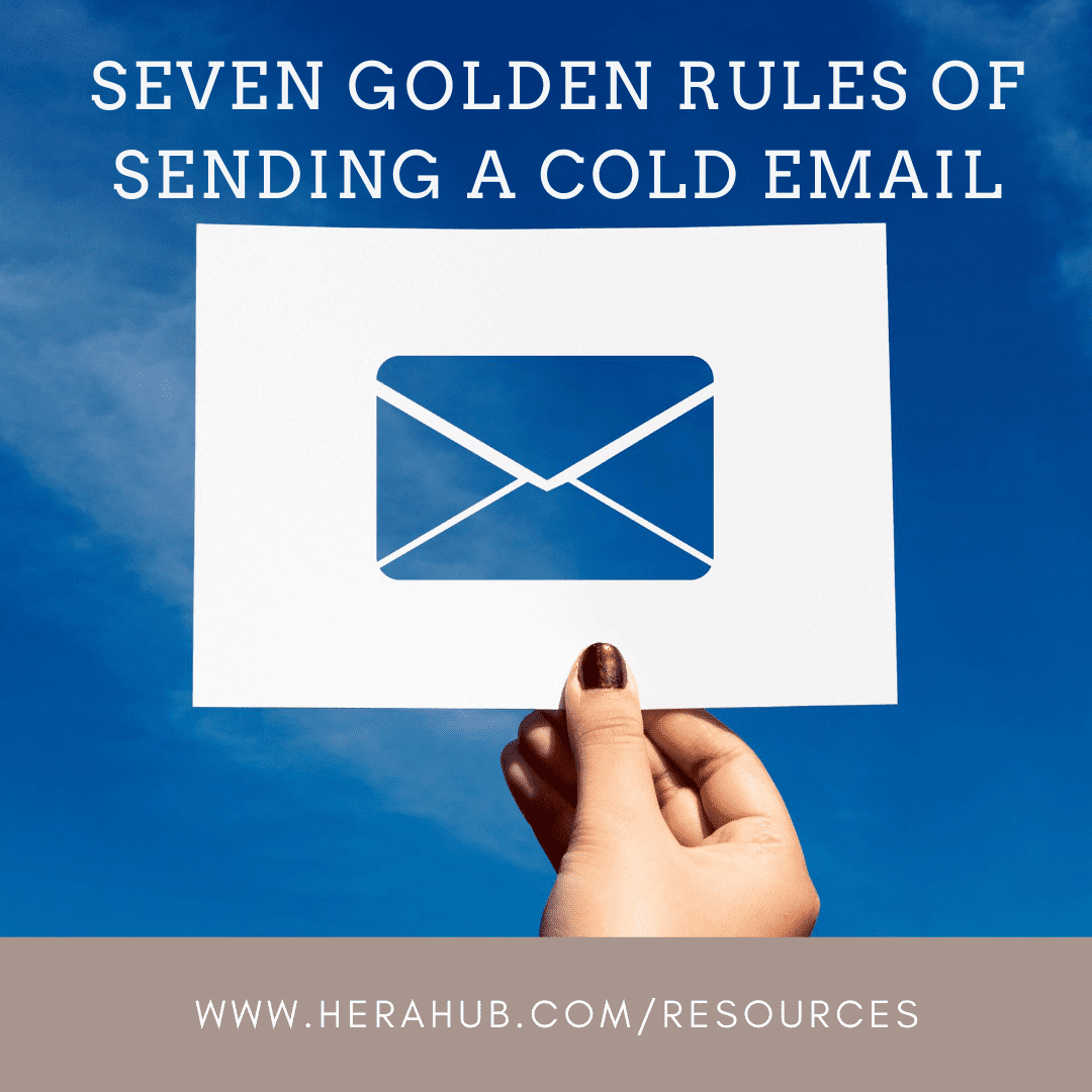 Seven Golden Rules of Sending a Cold Email
