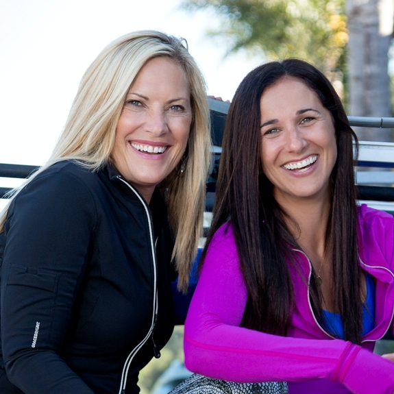 Kimberly Caccavo and Kate Nowlan, Co-founders of GRACEDBYGRIT