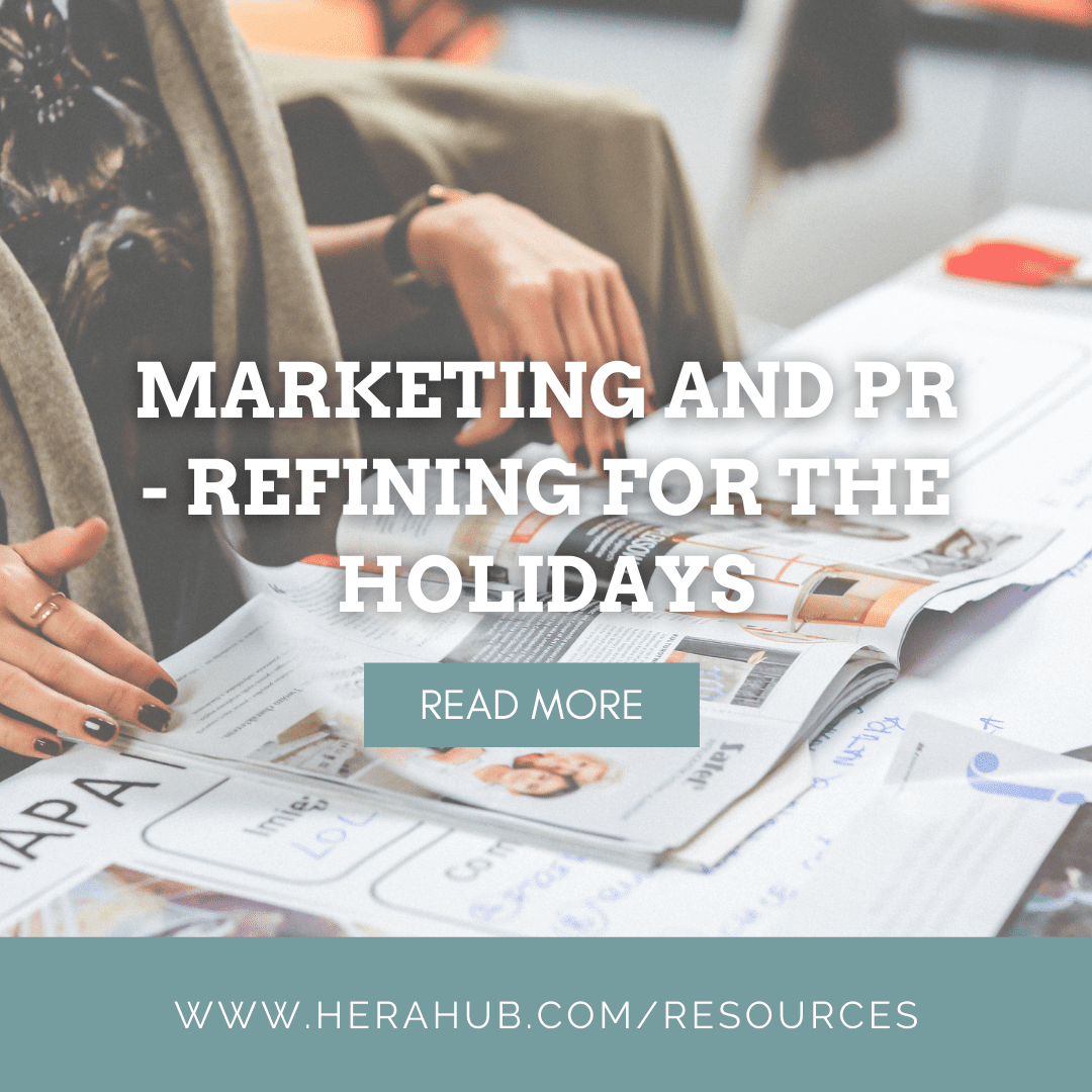 Marketing and PR – Refining for the Holidays