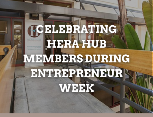 Celebrating Hera Hub members during Entrepreneur Week