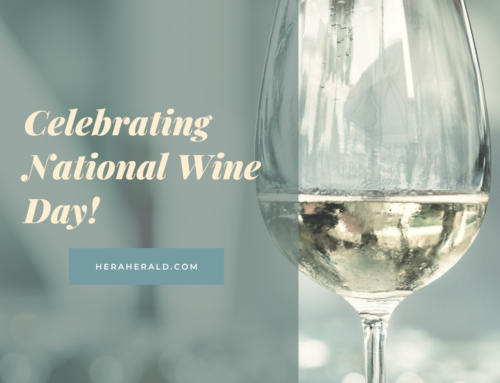 Celebrating National Wine Day – May 25, 2021