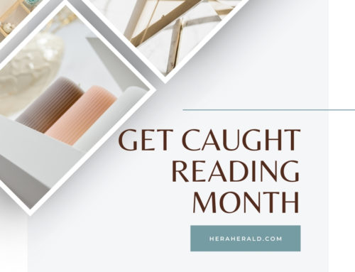 May is Get Caught Reading Month – Author Member Profiles